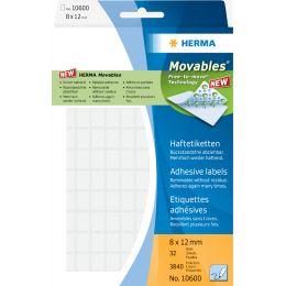 HERMA Etiketten Movables 8 x 12 mm, zur Handbeschriftung