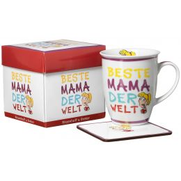 Ritzenhoff & Breker Kaffeebecher Beste Mama, 320 ml
