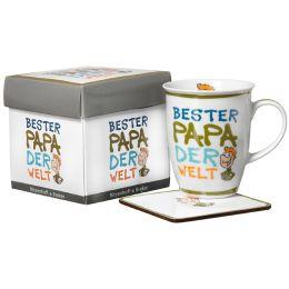 Ritzenhoff & Breker Kaffeebecher Bester Papa, 320 ml