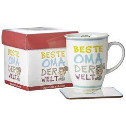 Ritzenhoff & Breker Kaffeebecher Beste Oma, 320 ml