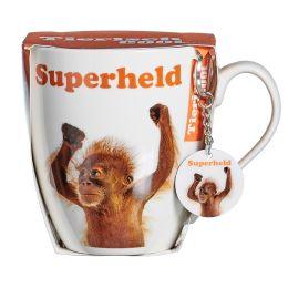 Ritzenhoff & Breker Jumbotasse Superheld Affe, 600 ml