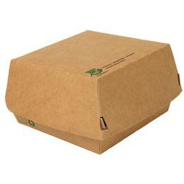 PAPSTAR Burgerbox pure, Maße: 155 x 155 x 90 mm, extragroß