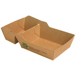 PAPSTAR Pommes-Frites-Tray pure, Maße: 155 x 85 x 35 mm