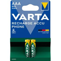 VARTA Telefon-Akku RECHARGE ACCU PHONE, Micro (AAA)