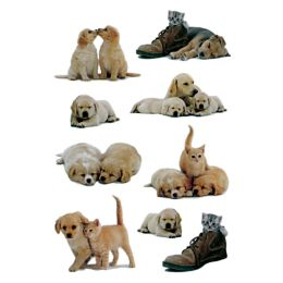 HERMA Sticker DECOR Hundewelpen