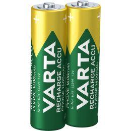 VARTA Telefon-Akku RECHARGE ACCU PHONE, Mignon (AA)