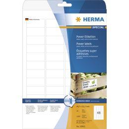 HERMA Power Etiketten SPECIAL, 45,7 x 21,2 mm, weiß