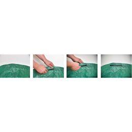 TerCasa Gartensack, 272 Liter, Polypropylen, grün, 2er Set