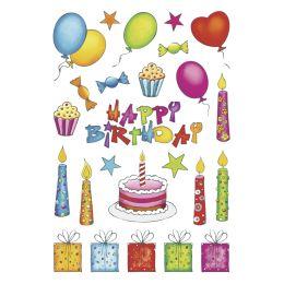 HERMA Sticker DECOR Geburtstag, beglimmert