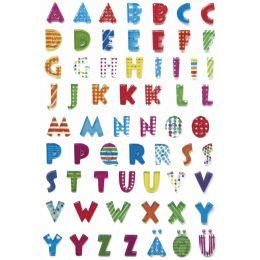 HERMA Buchstaben-Sticker MAGIC, A-Z, Stone geprägt