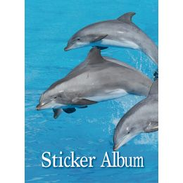 HERMA Stickeralbum Delfine, DIN A5