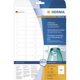 HERMA Preis-Etiketten SPECIAL, 35,6 x 16,9 mm, weiß