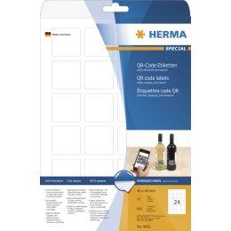 HERMA QR-Code Etiketten, 80 x 40 mm, rechteckig
