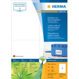 HERMA Universal-Etiketten Recycling, 38,1 x 21,2 mm