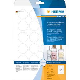 HERMA Folien-Etiketten SPECIAL, 45,7 x 21,2 mm, transparent