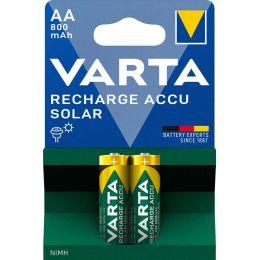VARTA NiMH Akku Rechargeable Accu Solar, Mignon (AA/HR06)