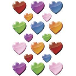 HERMA Sticker DECOR Bunte Herzen