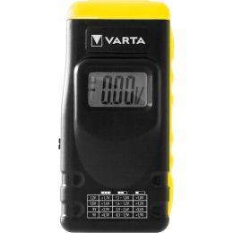VARTA Batterie-/Akku-Tester, mit LCD Anzeige, schwarz