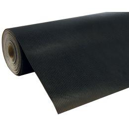 Clairefontaine Geschenkpapier Unicolor, auf Rolle, schwarz