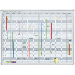 FRANKEN Datumstreifen für Planungstafel JK1203, weiß