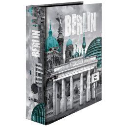 HERMA Motivordner Berlin, DIN A4, Rückenbreite: 70 mm
