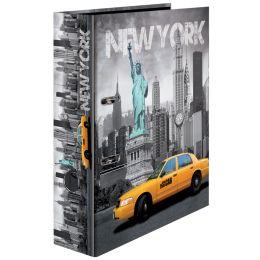 HERMA Motivordner New York, DIN A4, Rückenbreite: 70 mm