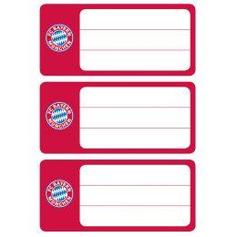 HERMA Buchetiketten FC Bayern München, 76 x 35 mm
