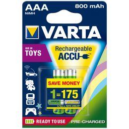 VARTA NiMH Akku Rechargeable Toy Accu, Micro (AAA)