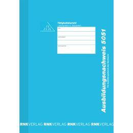 RNK Verlag Ausbildungsnachweis-Heft, wöchentlich, DIN A4