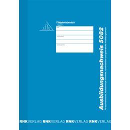 RNK Verlag Ausbildungsnachweis-Block, täglich, DIN A4