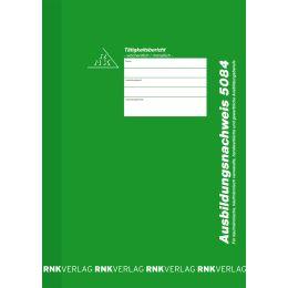 RNK Verlag Ausbildungsnachweis-Block, wöchentlich/monatlich