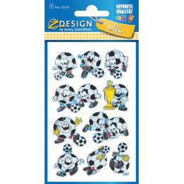 AVERY Zweckform ZDesign KIDS 3D-Sticker Fußball