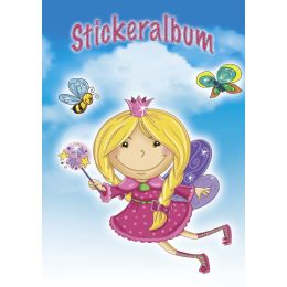 AVERY Zweckform ZDesign Stickeralbum Prinzessin, DIN A5
