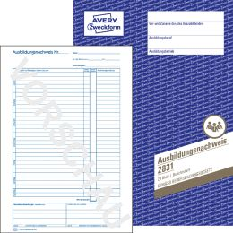 AVERY Zweckform Formularbuch Reisekostenabrechnung, A4