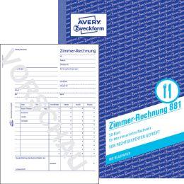 AVERY Zweckform Formularbuch Zimmer-Rechnung, A5 hoch