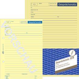 """AVERY Zweckform Formularbuch Gespr""""chsnotiz, A5, 50 Blatt"""
