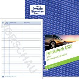 AVERY Zweckform Formularbuch Fahrtenbuch, A5, 40 Blatt
