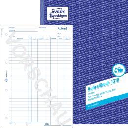 AVERY Zweckform Formularbuch Regiebericht, 2 x 50 Blatt