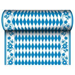 PAPSTAR Tischläufer Bayrisch Blau, (B)400 mm x (L)24 m