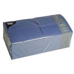 PAPSTAR Bistroservietten, 330 x 330 mm, 3-lagig, dunkelblau
