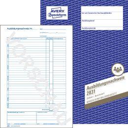 AVERY Zweckform Formularbuch Ausbildungsnachweis, A4