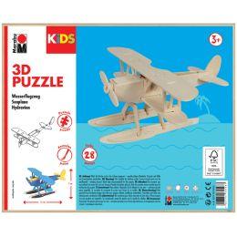 Marabu KiDS 3D Puzzle Wasserflugzeug, 28 Teile