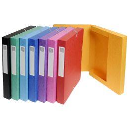 EXACOMPTA Archivbox, Karton, Rückenbreite 40 mm, blau