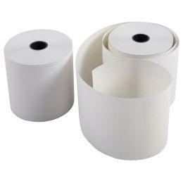 EXACOMPTA Kassenrollen, 57 mm x 43 m x 12 mm, extra weiß