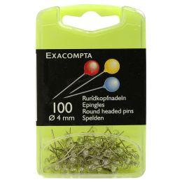 EXACOMPTA Markierungsnadeln, Größe: 4 mm, kristallklar