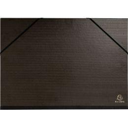 EXACOMPTA Zeichnungsmappe, 260 x 330 mm, Karton, schwarz