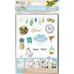 folia Paper Patches NOBLES, DIN A5, 5 Blatt