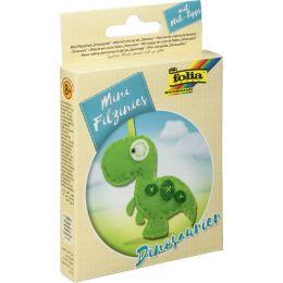 folia Mini Filz-Nähset Filzinies, 12-teilig, Dinosaurier