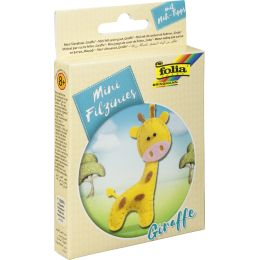 folia Mini Filz-Nähset Filzinies, 13-teilig, Giraffe