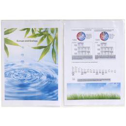 EXACOMPTA Ausweishülle, PVC, 2-fach, 0,15 mm, DIN A4